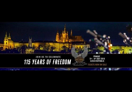 H-D 115th Anniversary Praha…